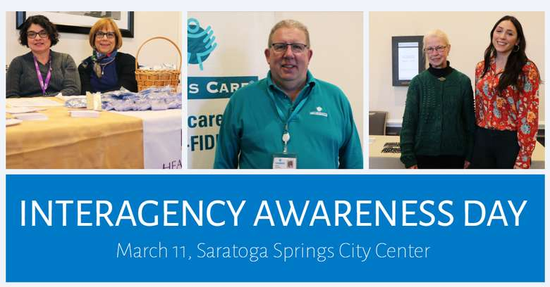 Interagency Awareness Day will be held on Wednesday, March 11.