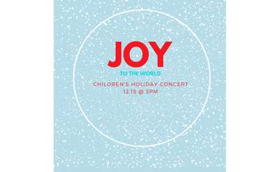 Concerts for Tots Holiday Concert 12.15.19