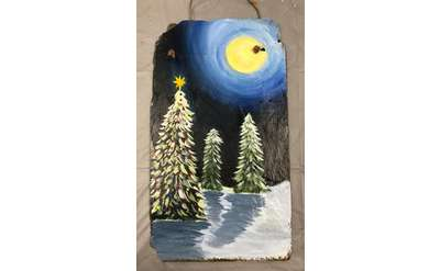 Holiday Tree Slate