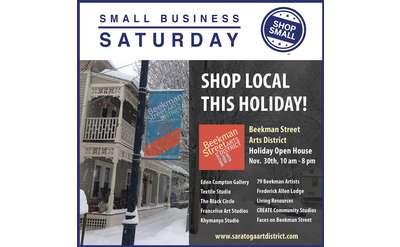 Shop Small on Beekman Street