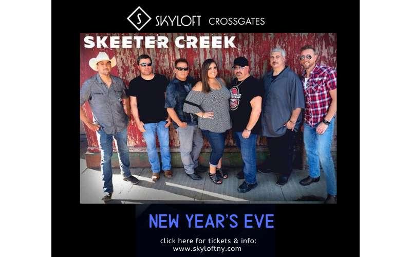 skeeter creek skyloft party poster