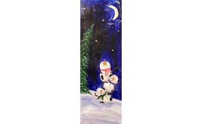 Silly Snowmen Paint & Sip