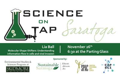 Science on Tap Nov Graphic