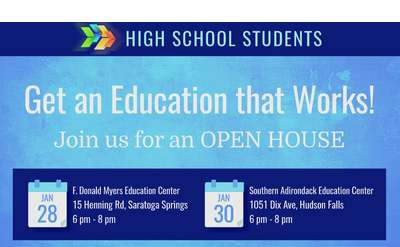 CTE Open House Poster