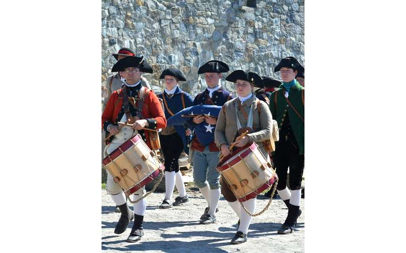 fifes and drums of Fort Ticonderoga photo