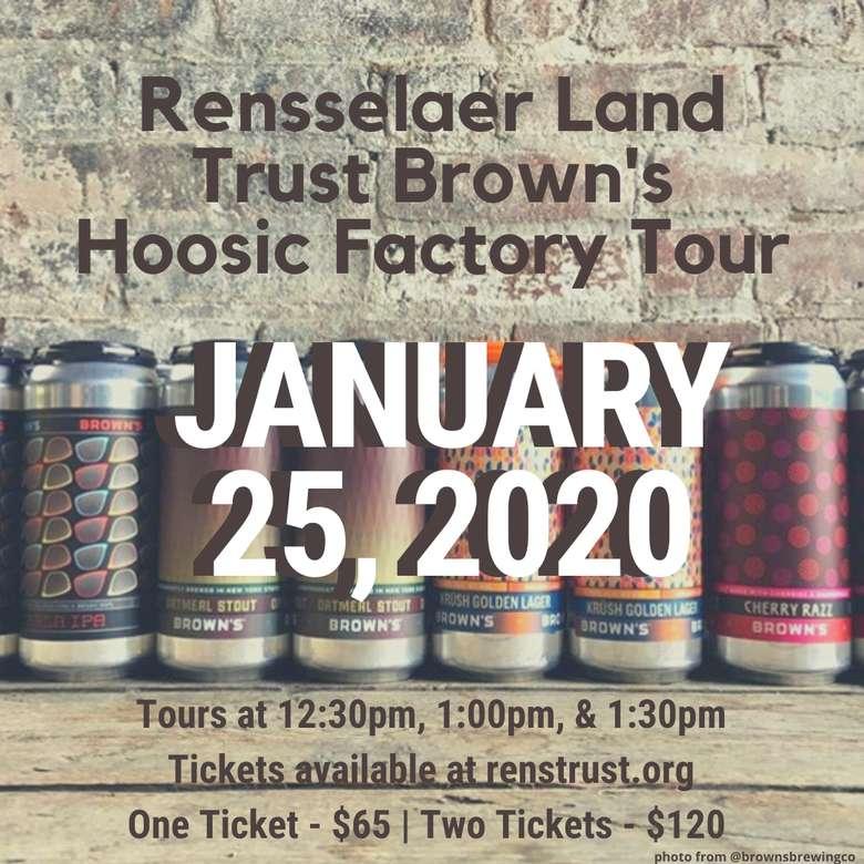 Rensselaer Land Trust Brown's Tour Ad