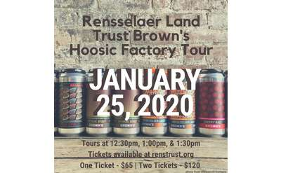 Rensselaer Land Trust Brown's Tour Ad