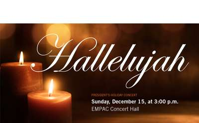 RPI's Annual President's Holiday Concert