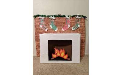 YMCA fireplace