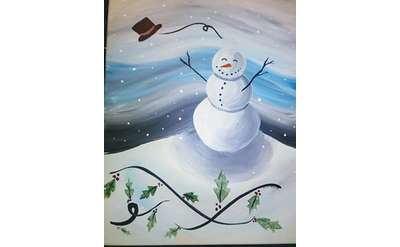 Swirling Snowman! Add script if you like!!
