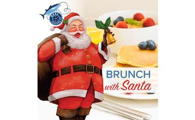 Reel Seafood Brunch with Santa