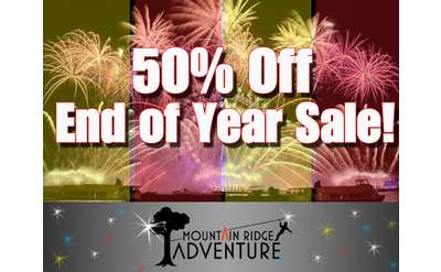 50% Off End of Year Sale