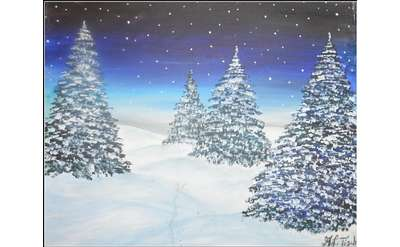 winter pines