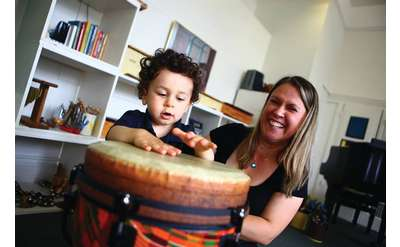 Parent and Child at The Music Studio