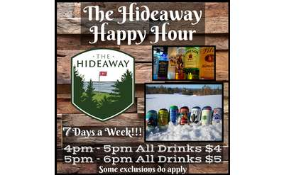 You are invited to the best Happy Hour around!