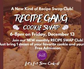 Recipe Gang COOKIE SWAP