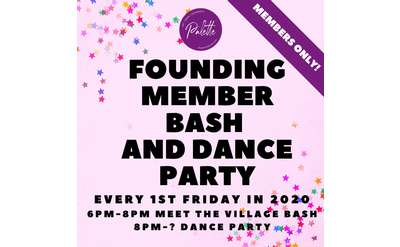 Founding Member Bash and Dance Party