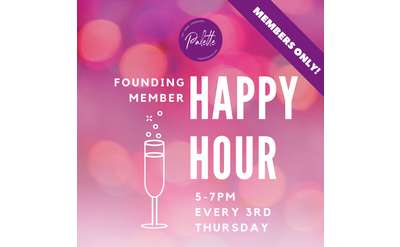 Founding Member Happy Hours
