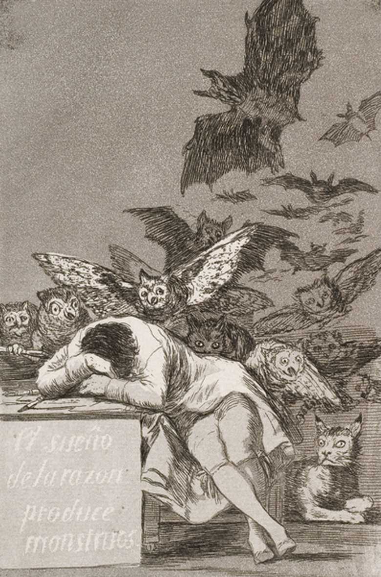 Francisco Goya: The Caprichos Etchings and Aquatints