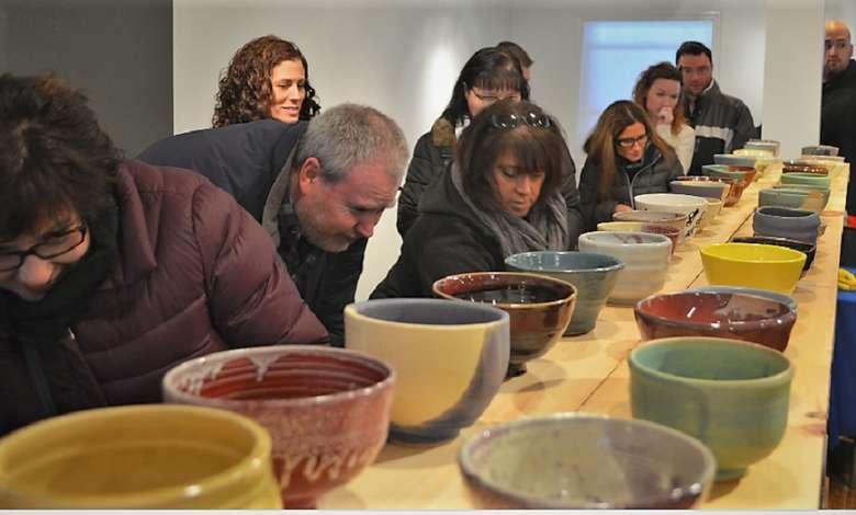 1000 handmade bowls