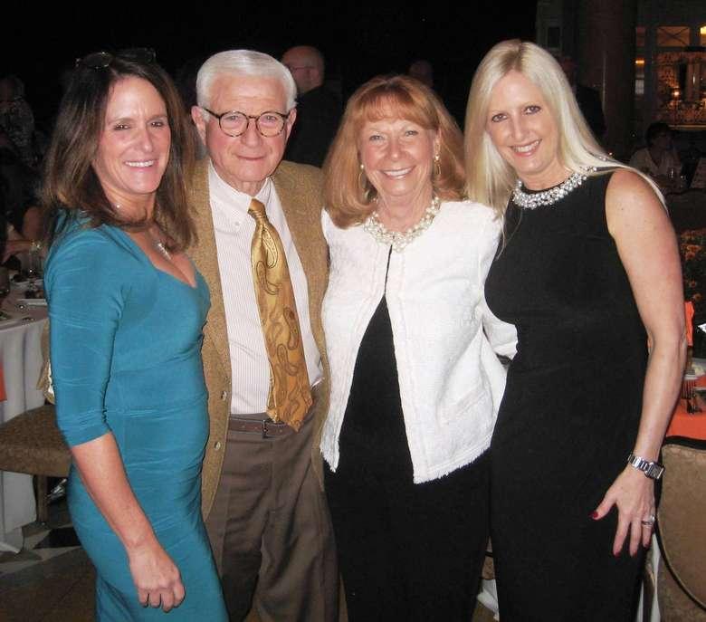 Lisa Mitzen and friends
