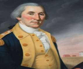 George Washington at Princeton by Charles Peale Polk