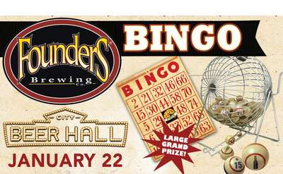 Founders Bingo Night