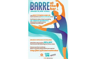 Barre at the Bar at City Line Bar and Grill