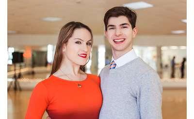 Natalia O'Connor Vlad and Florin Vlad