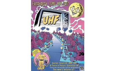 1/25/20 4 pm - MST3K's Jonah Ray with Weird Al Yankovic's 'UHF' Film Screening at GE Theatre at Proctors in Schenectady, NY