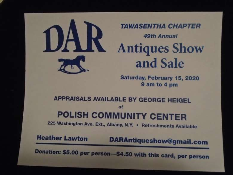 Antiques Show Poster