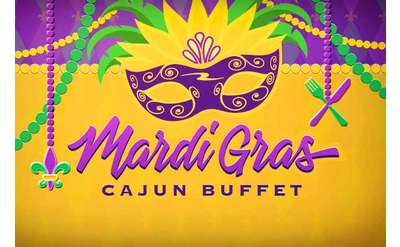 Mardi Gras Cajun Buffet