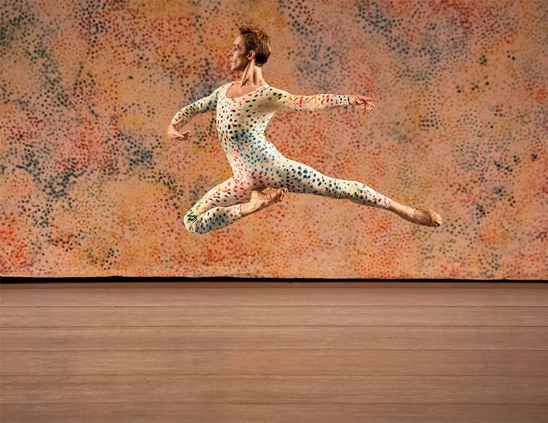 dancer performing in summerspace