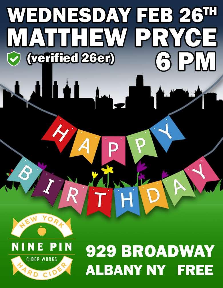 Pryce @ Nine Pin