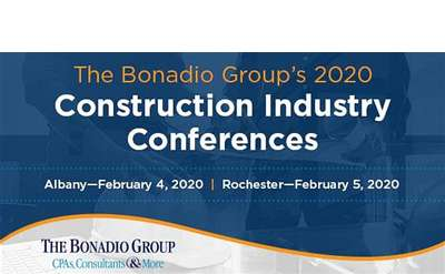 The Bonadio Group's 2020 Construction Industry Conference