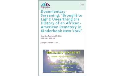 Documentary Film Screening: BROUGHT TO LIGHT