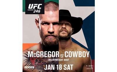 UFC 246 Poster
