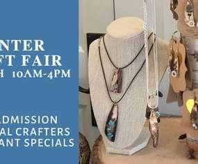 Winter Craft Fair at Sweet Basil Restaurant - Handcrafted Jewelry by BirchBark