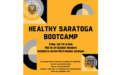 Healthy Saratoga Bootcamp (FREE for Chamber Members!)