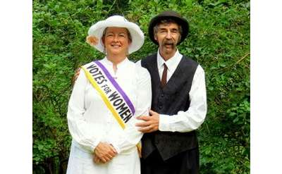 Singing for Suffrage with Peggy Lynn and Dan Duggan