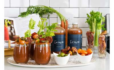 Toma Bloody Mary Cocktails