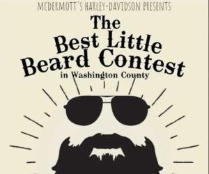 beard contest flyer