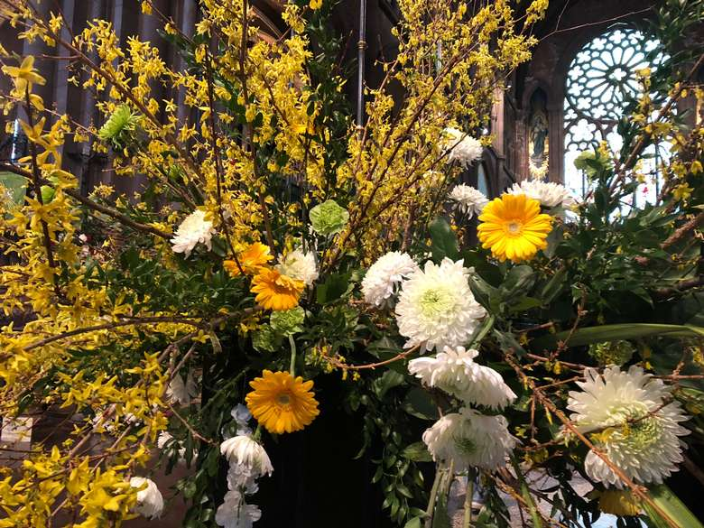 It's Spring in the Cathedral!