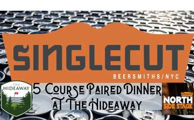 Coursed Paired Dinner with SingleCut Beersmiths
