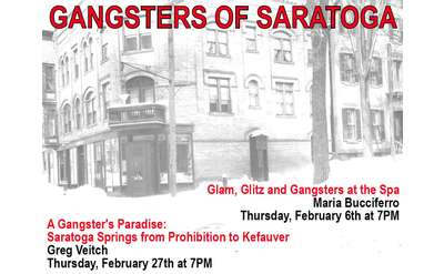 A Gangster's Paradise: Saratoga Springs from Prohibition to Kefauver