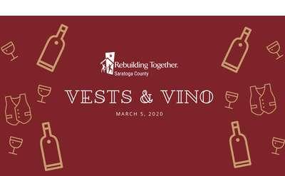 Join us for Vests & Vino
