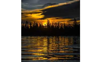Image Credit: Dave Waite, Raquette Lake Sunrise, photograph