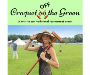 croquet off the green event poster