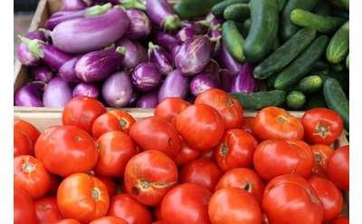Summer veggies at the Market