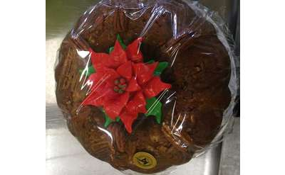 Christmas cake at the Market